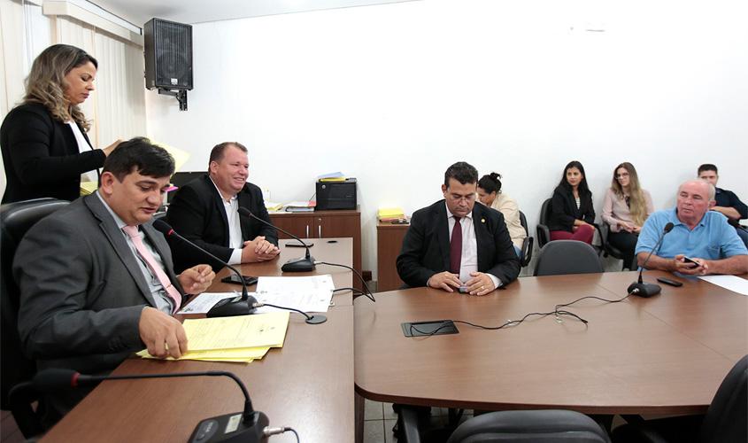 Orçamento de Rondônia para 2019 tramita na Assembleia