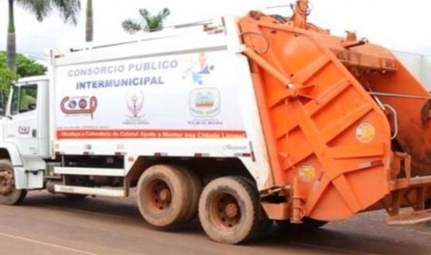 Prefeitura de Rolim de Moura dá calote no consórcio intermunicipal que contratou coleta de lixo para a cidade