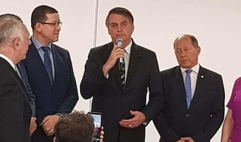 Presidente Jair Bolsonaro assina decreto da Transposição