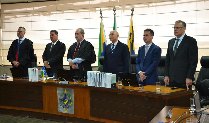 Presidente do TJRO abre o Ano Judiciário e sinaliza como será a nova gestão