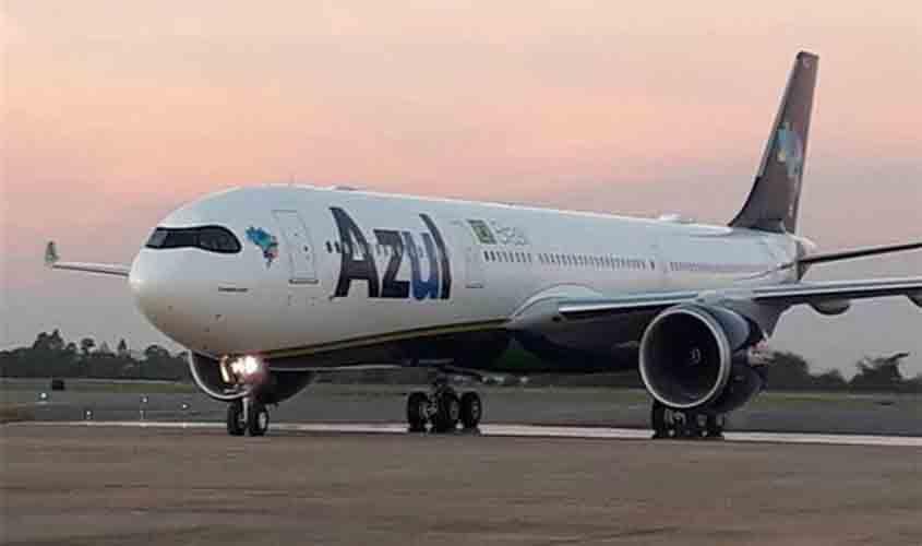 Azul volta a operar voos em Vilhena (RO) daqui a um mês