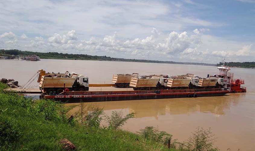 Iniciadas as obras de proteção das margens do rio na região da Madeira-Mamoré