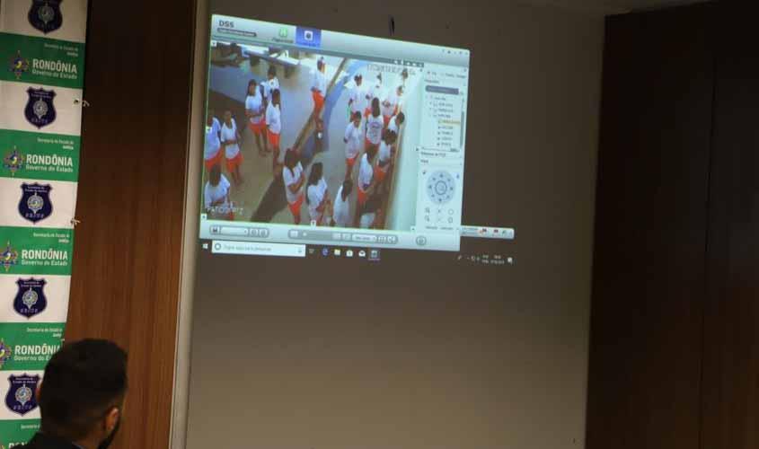 Rondônia contará com sistema de videomonitoramento nas unidades prisionais