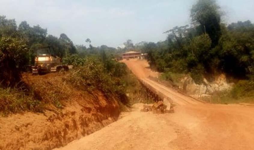 Ponte da Vala, na RO-005 em Porto Velho, será interditada por dois dias para reforma