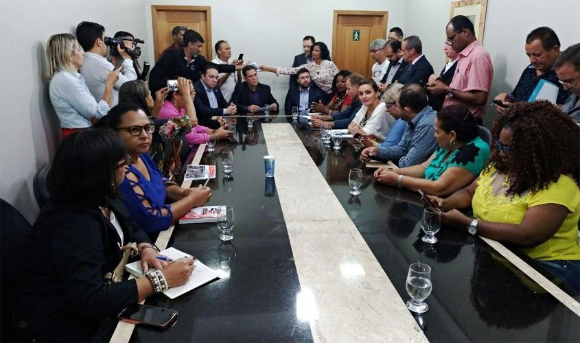 TJ marca para sexta audiência de conciliação entre governo do estado e Sintero