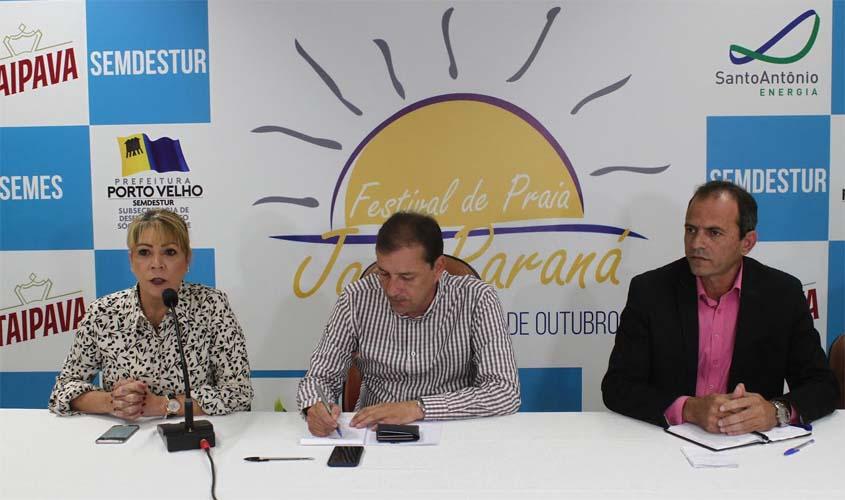 Prefeito dr Hildon lança 6ª edição do Festival de Praia