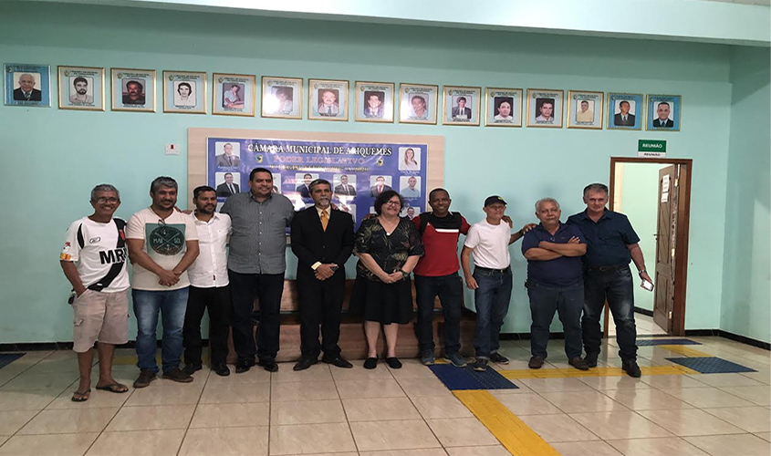 Sinjor se reúne com jornalistas de Ariquemes | Tudo Rondônia - Independente! - Tudo Rondônia
