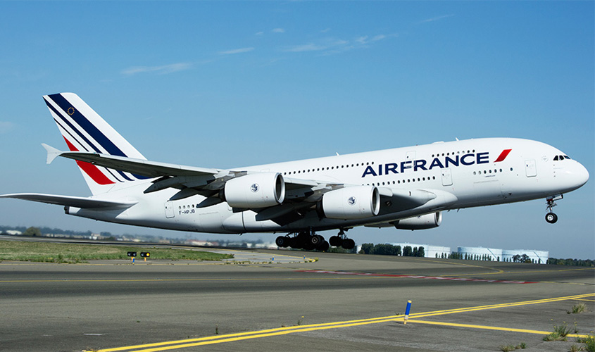 Air France aumenta número de voos para Fortaleza