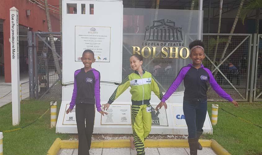 Bailarinos rondonienses são aprovados em seletiva Nacional para Escola do Teatro Bolshoi