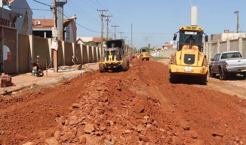 Prefeituraasfaltará Jatuarana no bairro Lagoa na próxima semana